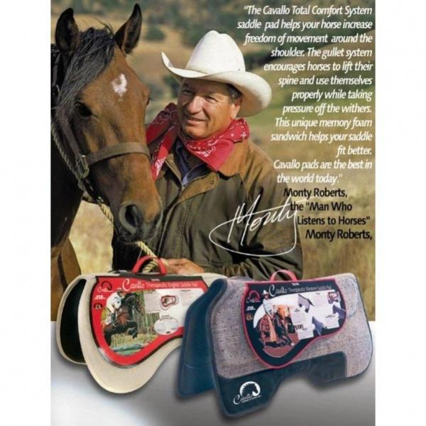 F R A  Cavallo Western All Purpose Pad - Equine Norway